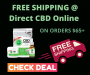 Direct CBD Online Offers Free Shipping on All Orders over $65!