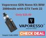 Vaporesso GEN Nano Kit 80W 2000mAh with GTX Tank 22